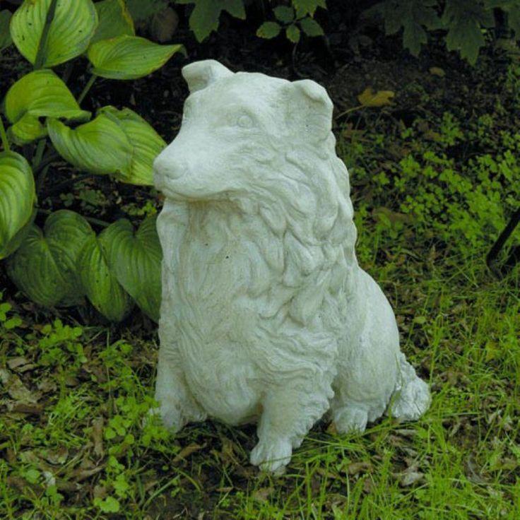 Sheltie The Dog Garden Statue   130 N