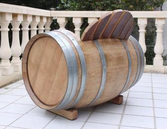 fabrication d 39 une chaise barrique bois jardin ext rieur. Black Bedroom Furniture Sets. Home Design Ideas