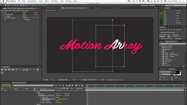 In this After Effects tutorial we show you the powers of CC Composite. It's is an amazing effect that is often overlooked by lots of After Effects artists. Once you wrap your head around it, you will love it and use it often.