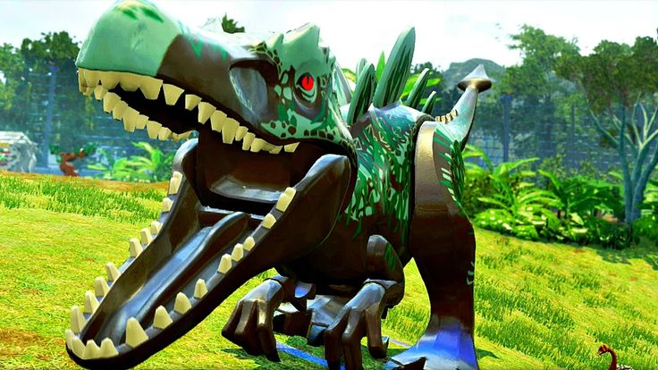 Парк Юрского Периода.Война Динозавров часть 20.Игра мультик Динозавры че...