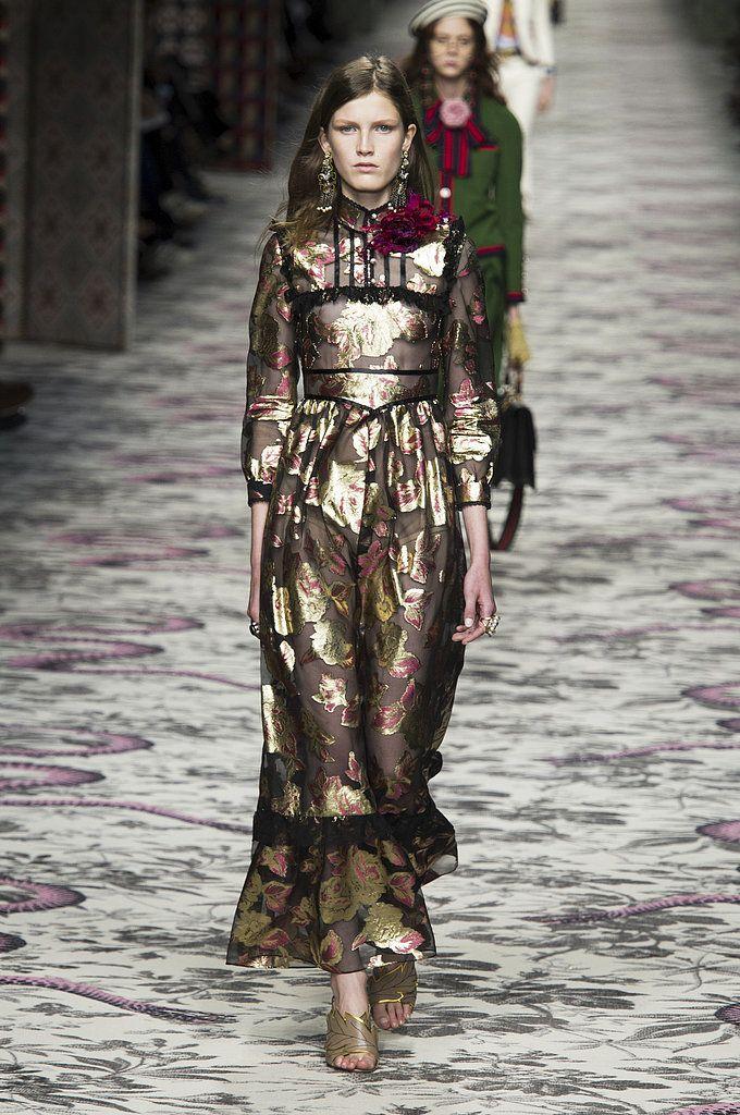 Spring 2016 Trends   Runway   Victorian Rules   Gucci Spring 2016    POPSUGAR Fashion