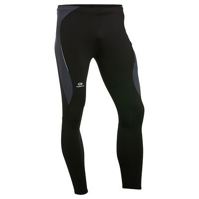 RUNNING Running Running, Trail, Athlétisme - Collant Running Elioplay KALENJI - Textile running BLACK