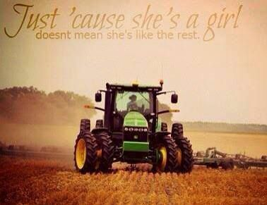 I love me some john deer tractor I love working in any way on helping in the field