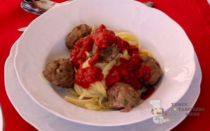 Köfteli Spagetti Tarifi | Yemek Tarifleri Bizde