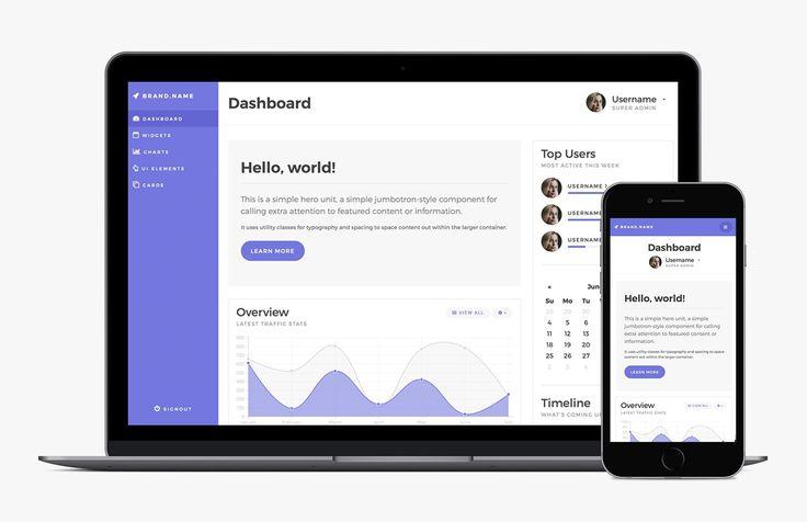 Medialoot - Bootstrap 4 Admin Dashboard Template