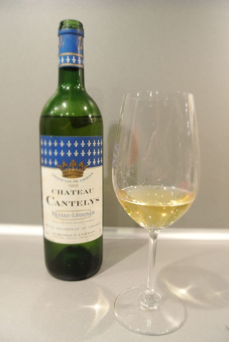 Chateau Cantelys blanc 1988 scored 90 points from winespoint.com. A white Bordeaux style wine from Graves shows a lot of complexity and thick oily aftertaste