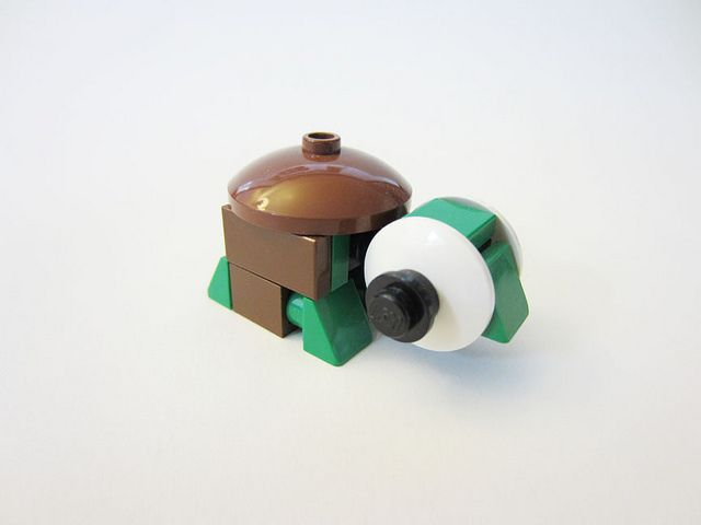 CUTE!!! LEGO Turtle #LEGO #animal #turtle
