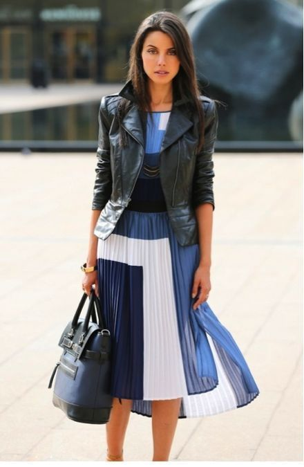 How To Wear the Midi Skirt - Page 21 of 27 - Fashion Style Mag