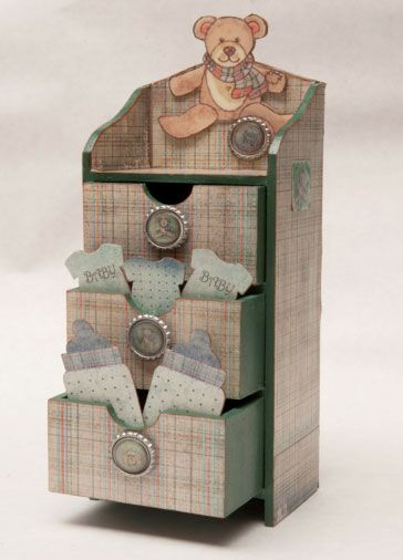 Baby Room Mini Chest of Drawers