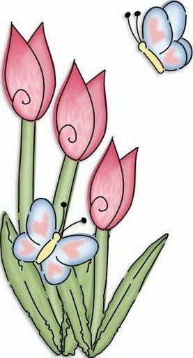 dibujosdetulipanesparaimprimir.jpg (277×512)
