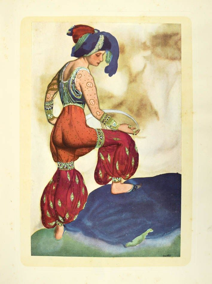 Andre Levinson, Bakst. The Story of the Artist's Life, 1923