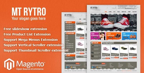 Magento Theme MT Rytro - ThemeForest Item for Sale