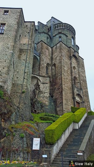 Sacra di San Michele: a mysterious monastery high up in the mountains