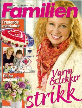 Design made for Dale, published in Familien 03-2011