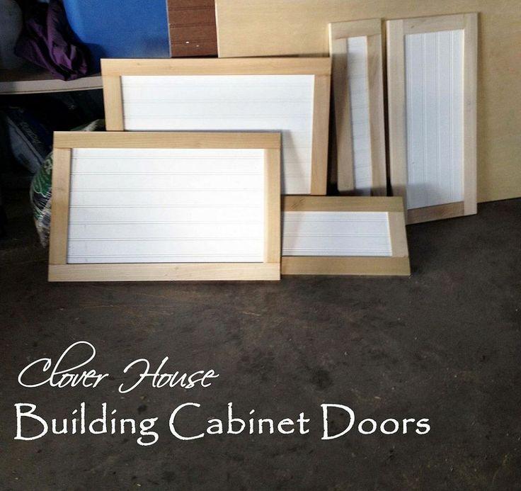 Kitchen Cabinet Makeover Part 3 Building Cabinet Doors