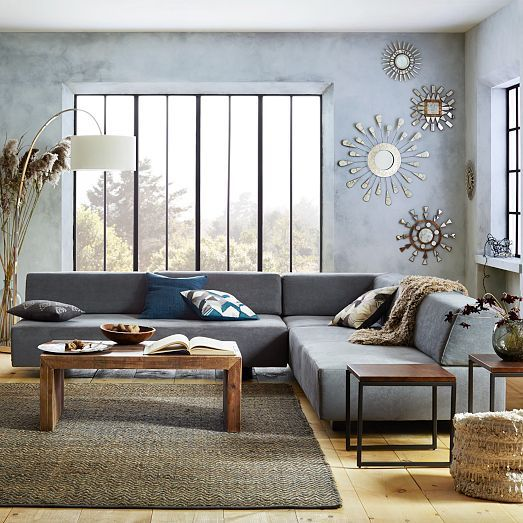 wall mirrors - Foxed Ray Mirrors | West Elm