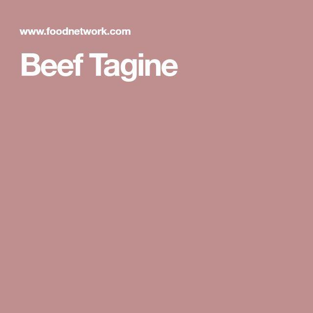 Beef Tagine