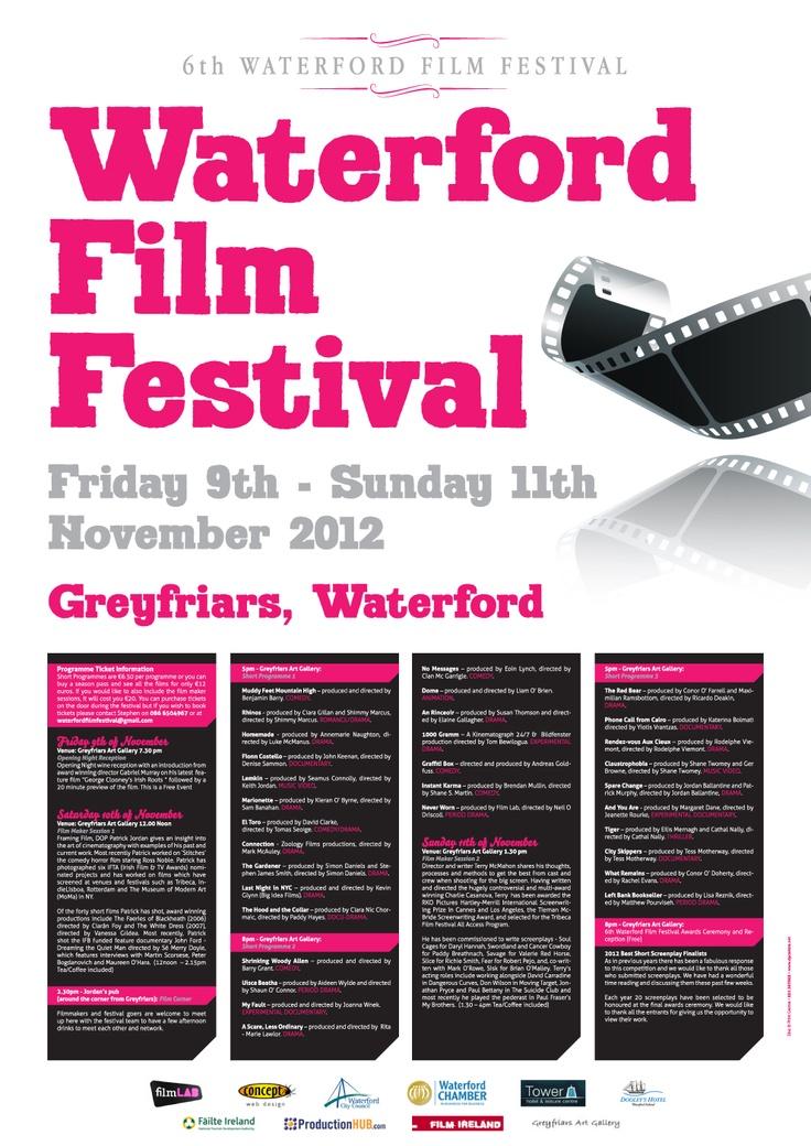 Waterford Film Festival 2012 Corriboard