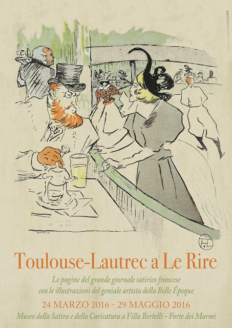 "FANY - BLOG: Toulouse-Lautrec a ""Le Rire"" in mostra a Forte dei..."