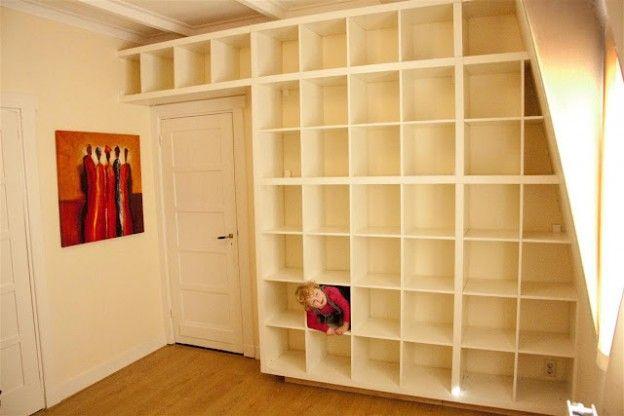 ikea hack children 39 s wardrobe google search loft conversion landing pinterest. Black Bedroom Furniture Sets. Home Design Ideas