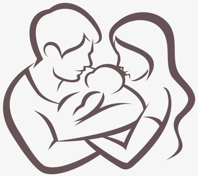 Milhoes De Imagens Png Fundos E Vetores Para Download Gratuito Pngtree Line Art Drawings Mom Art Mom Drawing