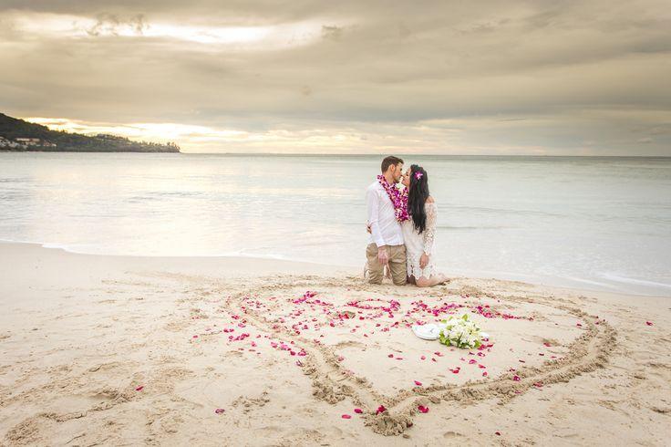 Katie & Jacob Love- Elopement Buddhist Blessing Ceremony at Kamala Beach, Phuket, Thailand. 14-12-14