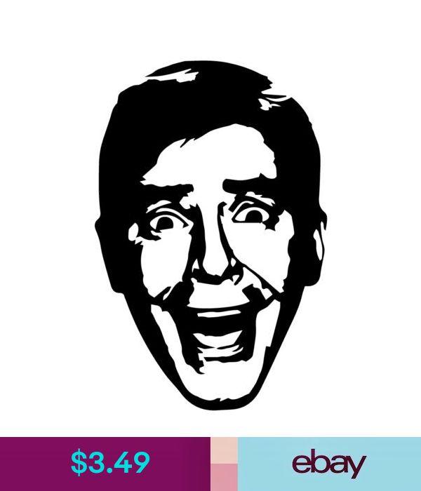 Jerry Lewis vinyl decal sticker Nutty Professor Comedy France Dean