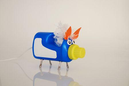 Oltre 25 fantastiche idee su Bottiglie di plastica riciclate su Pinterest  B...