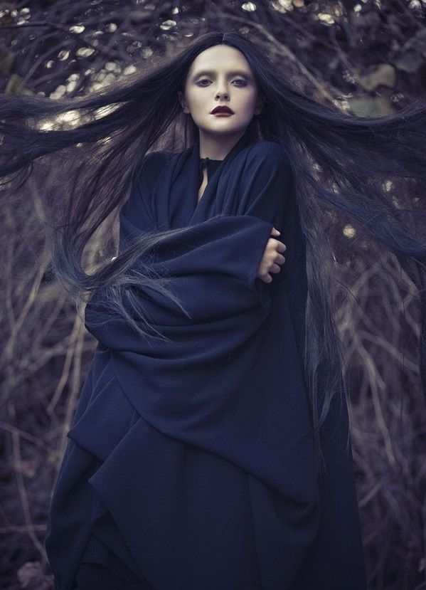 Mode sorcière / witch's fashion : MAX.TAN Spring 2012 Campaign