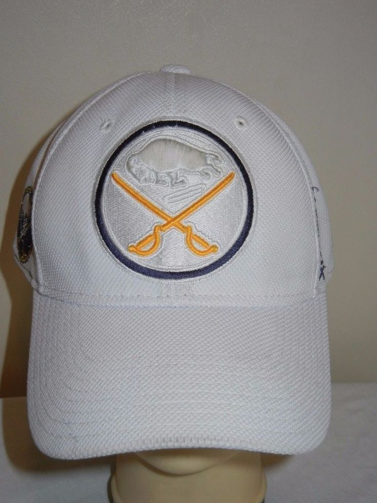 xl fitted baseball caps buffalo sabres center ice hat cap white big size leather