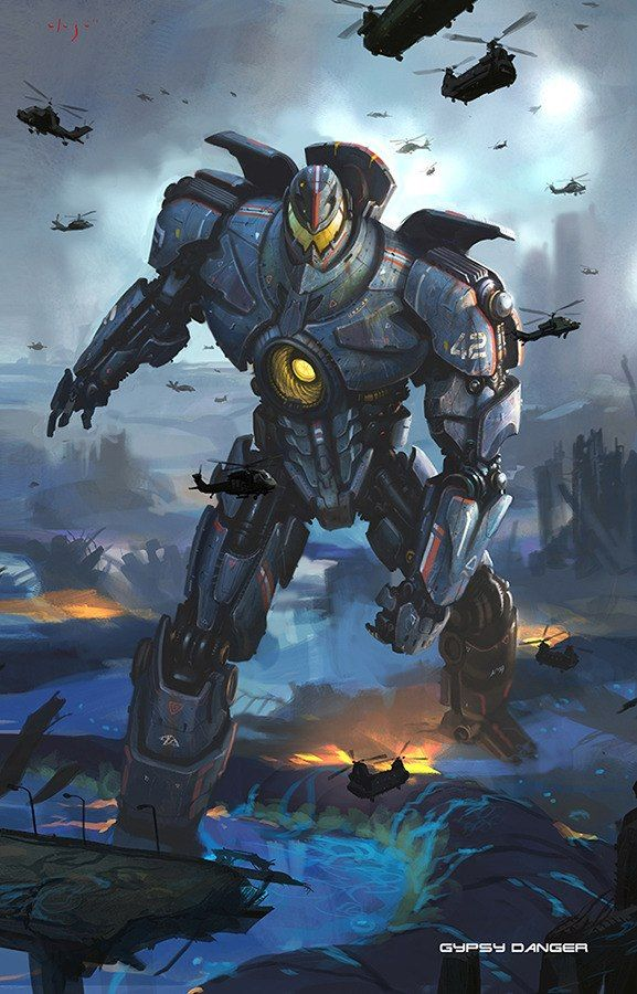 Gipsy Danger from Pacific Rim