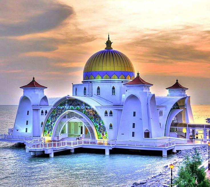 Мечеть Melaka. Malaysia. Малайзия.