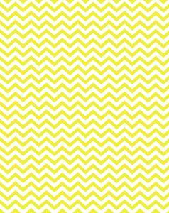 Free printable - yellow party chevron