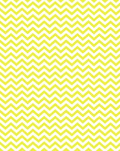 Free printable - yellow party chevron