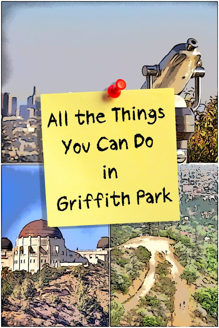 Griffith Park has enough things to do to keep you busy for weeks. Here's a round up of what you can do there.
