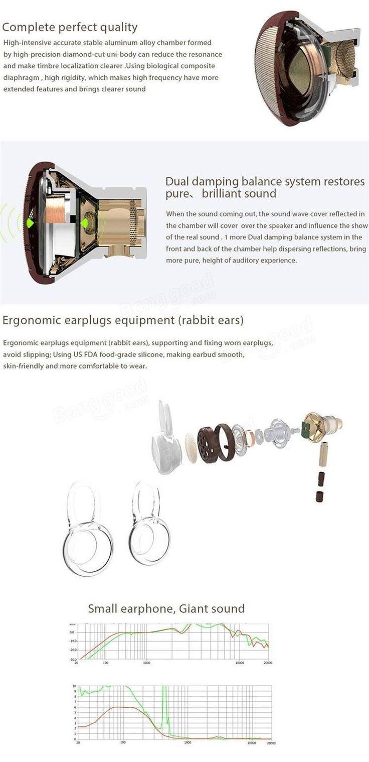 Xiaomi conception 1more piston de 3.5 mm dans l'oreille de métal Super Bass casque écouteur avec micro