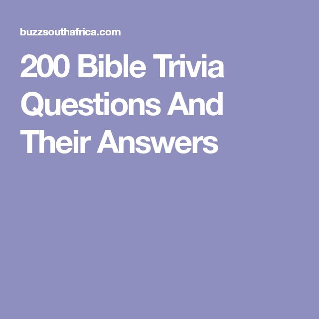 questions and answers bible studies and faith A multiple choice bible quiz on what apostolic  bible studies index || this faith bible quiz is  if you would like to find the answers to these questions,.