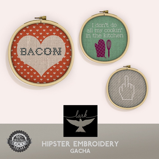 Hipster Embroidery | Flickr - Photo Sharing!