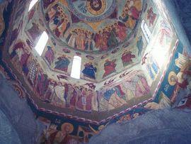 Dobrogea - Inside Monastery Saon