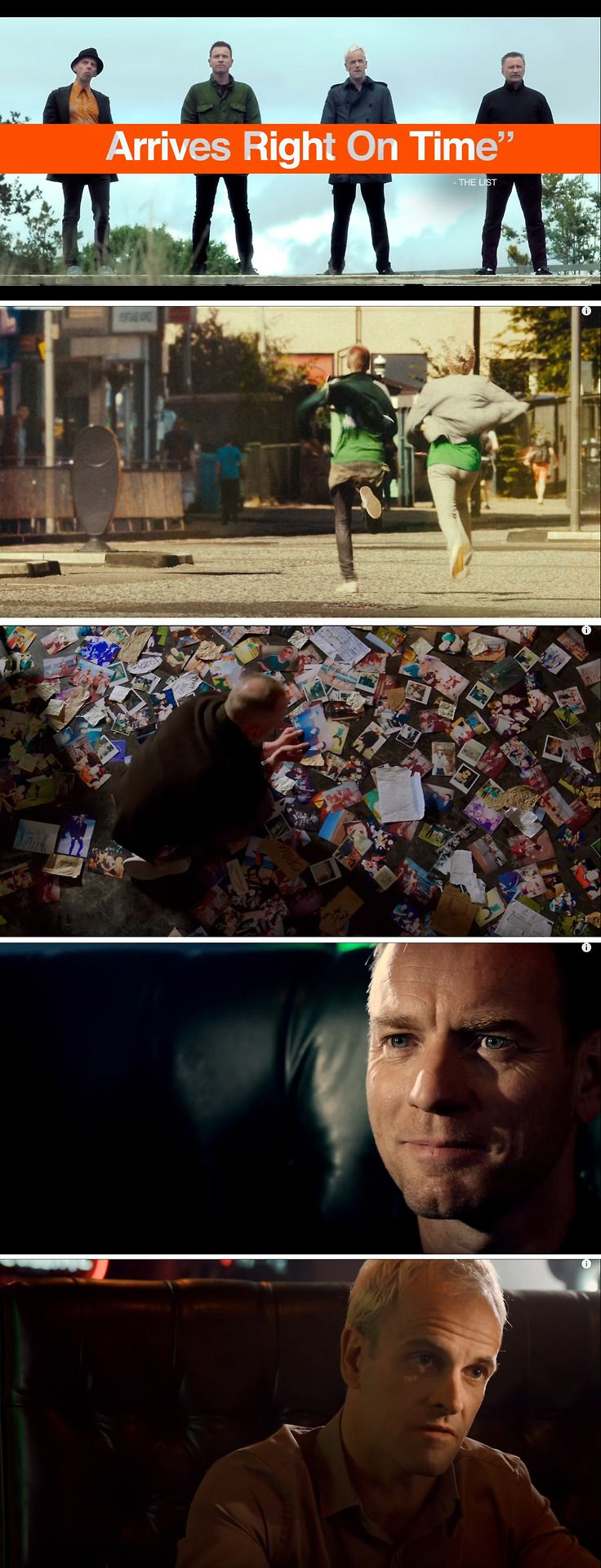 T2 Trainspotting cinematography and color grading
