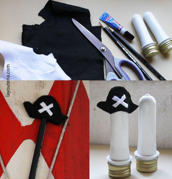 Layouteria | Arte + Multicoisas: {PAP} Mini chapéu de pirata