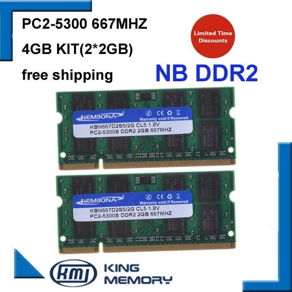 16.84$  Watch here - http://ali19i.shopchina.info/go.php?t=32623999192 - brand new 4GB 2x2GB PC2-5300S DDR2-667 667Mhz 2gb 200pin DDR2 Laptop Memory pc2 5300 667 Notebook Module  Free Shipping 16.84$ #buyininternet