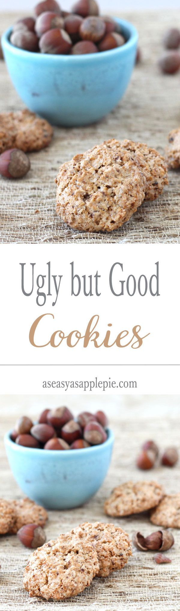 Ugly but Good Cookies (Brutti ma Buoni): to make these Italian cookies you only need 3 INGREDIENTS, no butter, no oil