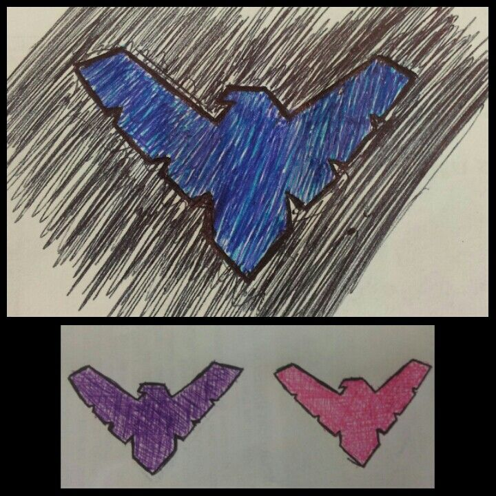 Nightwing, cause thats what I do in boring classes