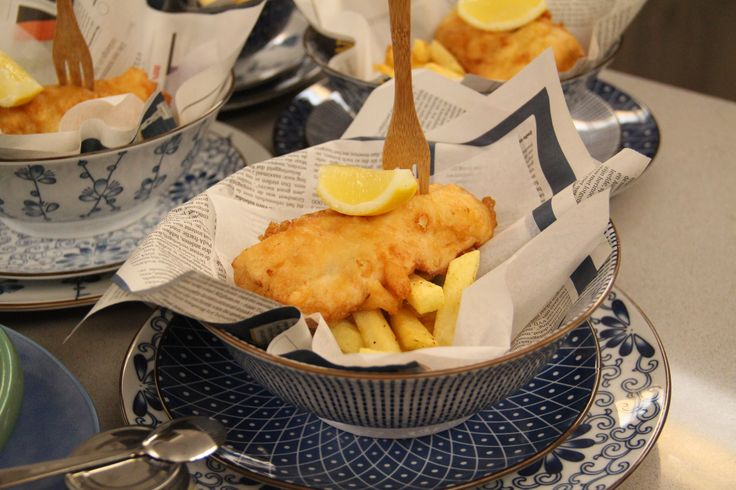 Fish & Chips van kabeljauwfilet