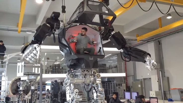 In South Korea have created a robot METHOD-1, which is similar to the ro...