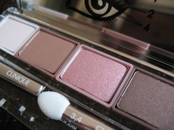 Clinique All About Shadow Quad 'Pink Chocolate' | review, photos, swatches