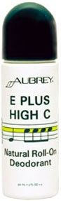Aubrey Organics E Plus High C Roll-On Deodorant for total protection that lasts, this herbal roll-on formula reduces odour and keeps you feeling clean all day. Paraben and aluminium free Deodorant. Vegan. http://www.theremustbeabetterway.co.uk/aubrey-organics-e-plus-high-c-roll-on-deodorant.html