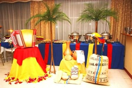 Colombian Table Decor- ideas!