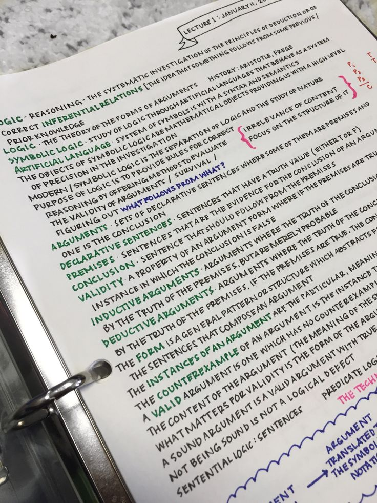 """stircrazed: """" I color code my notes to distract myself from the fact that I don't understand Symbolic Logic. """""""